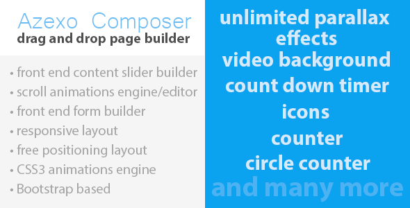 Azexo Composer Drupal page / block builder | Plugins | Html