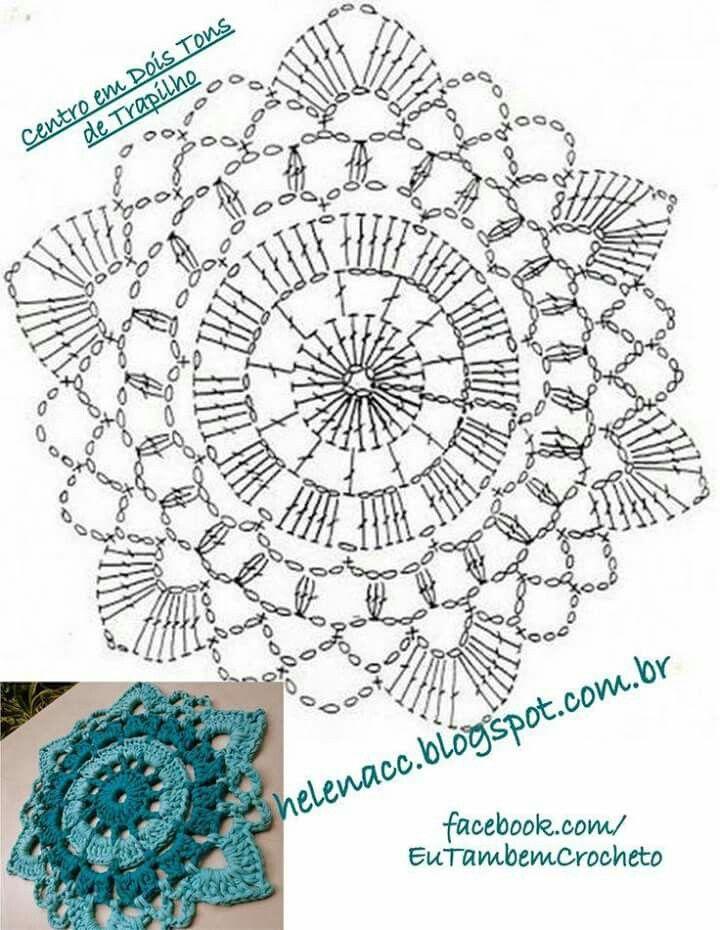Pin de nidia en crochet | Pinterest | Ganchillo, Atrapasueños y Mandalas