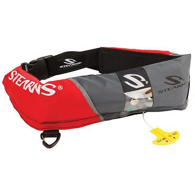 Life Jackets and Preservers 15262: Stearns 0340 16 Gram Manual Inflatable Belt Pack Red [2000013885] -> BUY IT NOW ONLY: $61.38 on eBay!