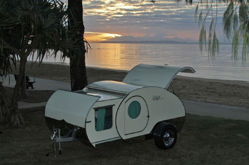 From Australia The Gidget Teardrop Camper Wonder If They Ship To Usa