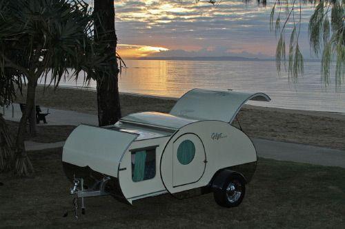 Gidget Retro Teardrop Camper Australian Designed And Owned Style