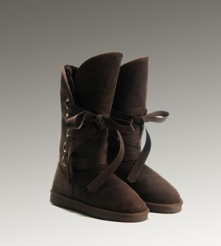 UGG Roxy Tall 5818 Chocolate Boots For Sale In UGG Outlet - but still too  expensive