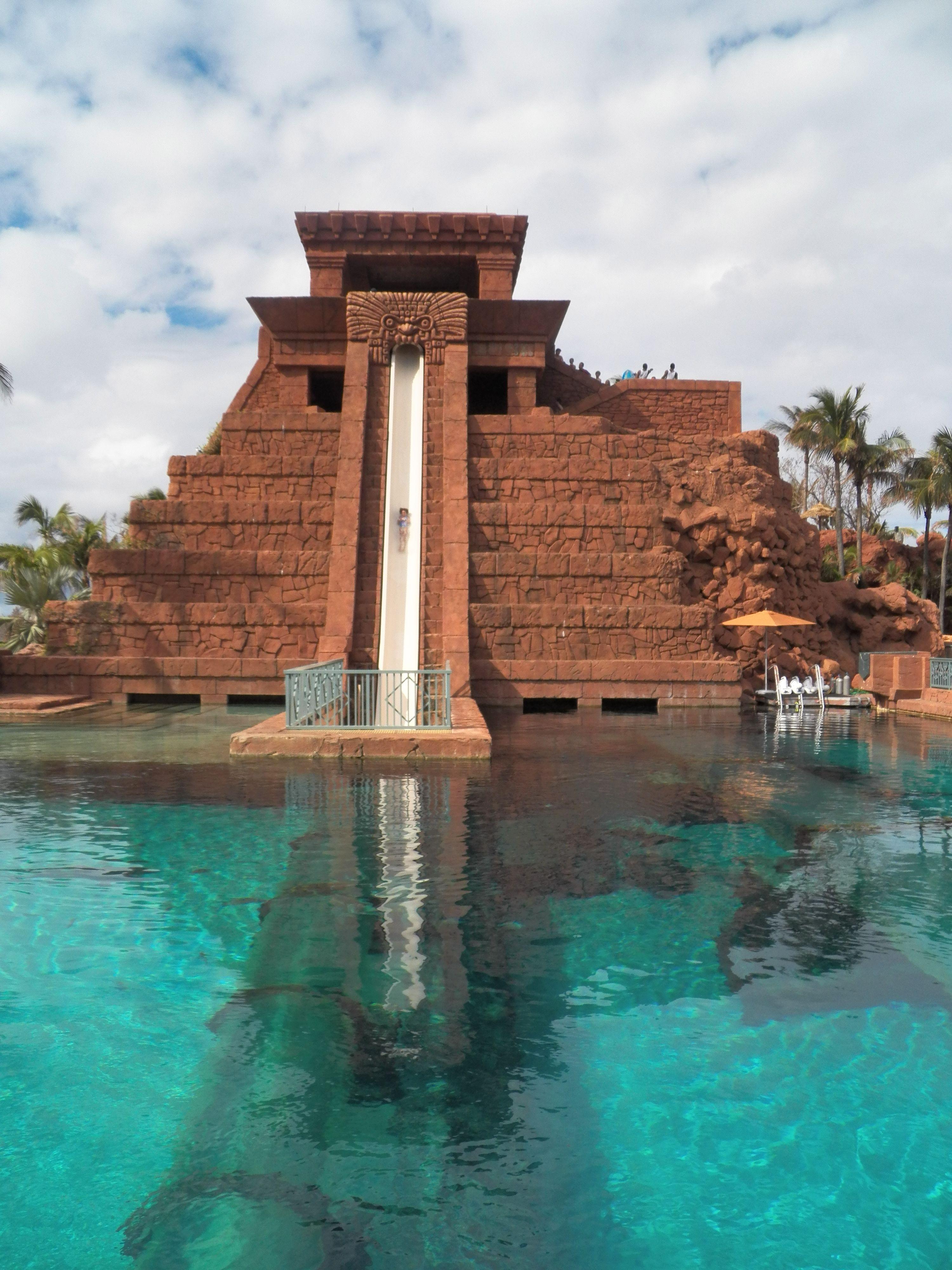 Atlantis water slide   Atlantis bahamas, Bahamas, Water slides