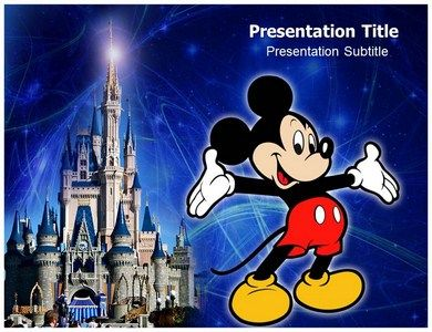 Mickey Mouse - Powerpoint #Template | PowerPoint Tips | Pinterest