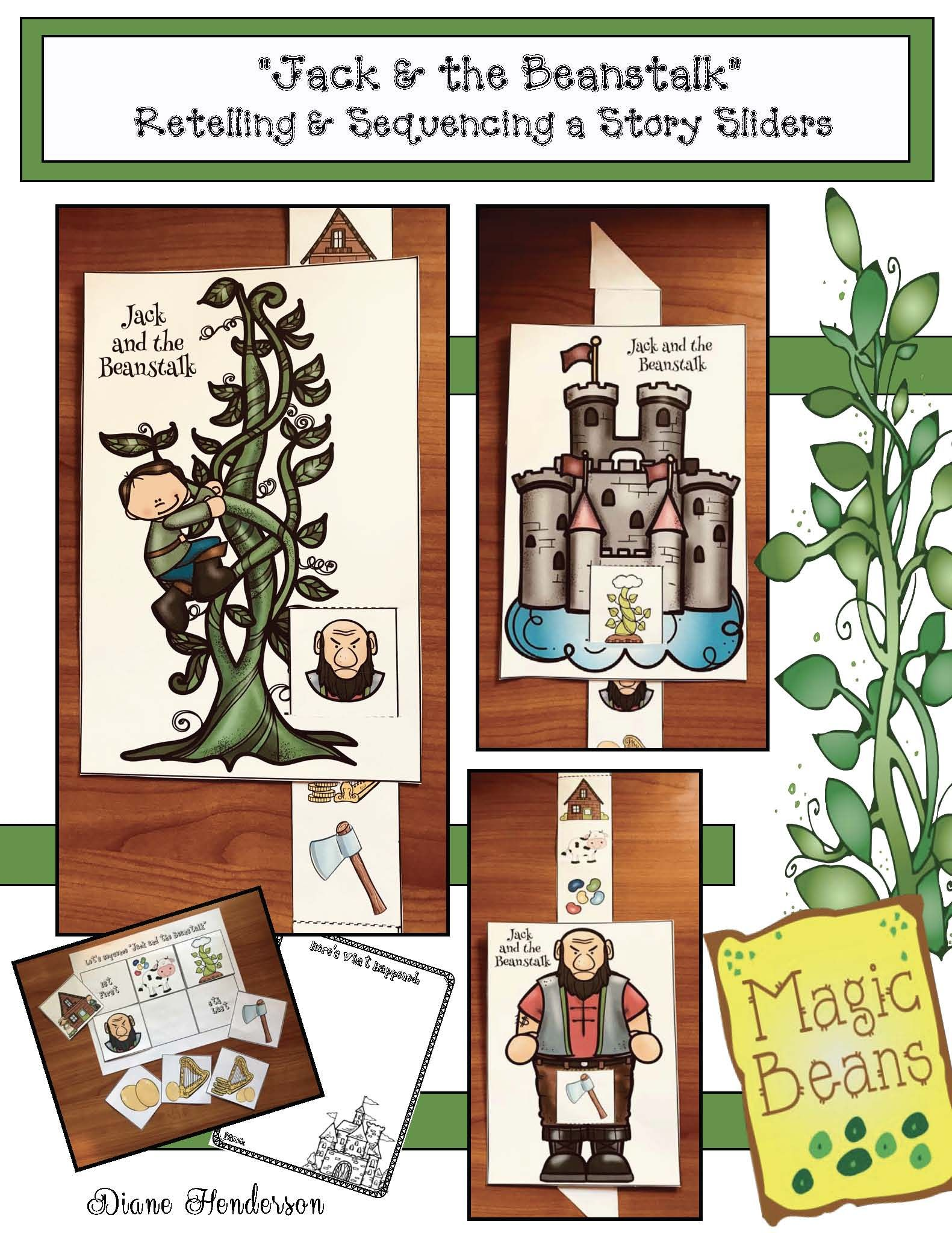 Activities For The Jack And The Beanstalk Fairy Tale