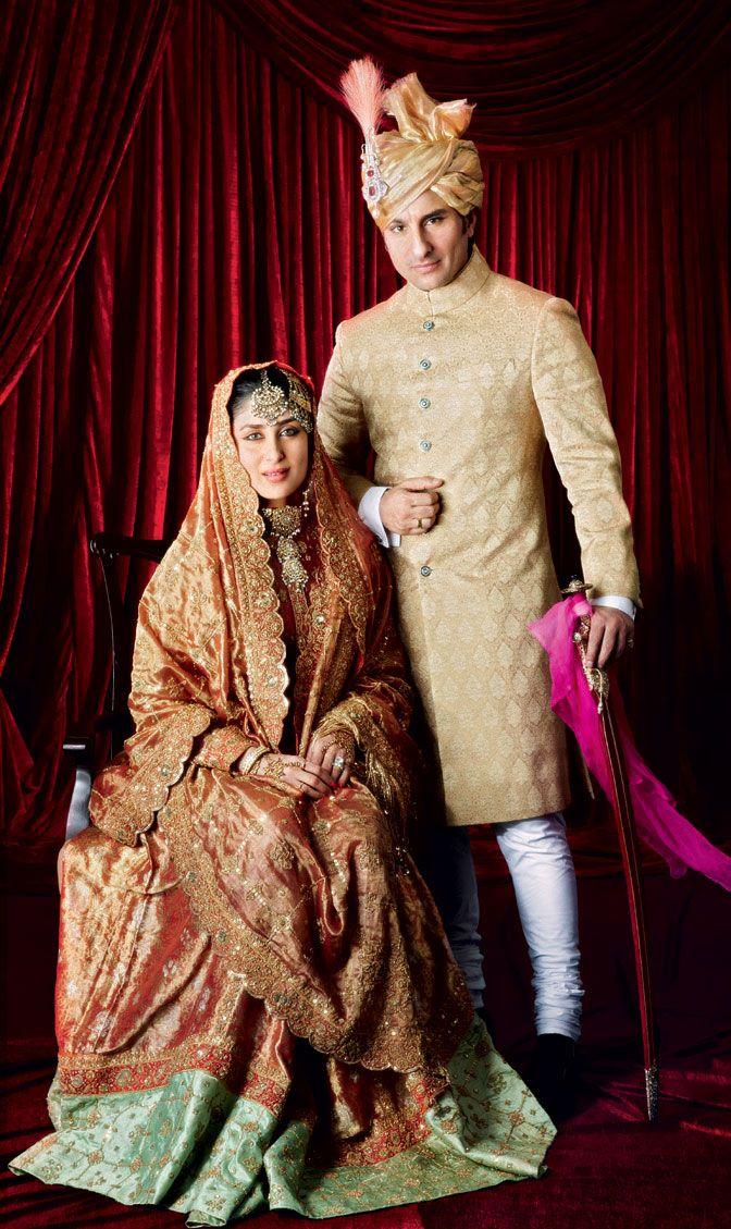 Kareena Kapoor Khan Wore Mother In Law Sharmila Tagore S Bridal Lehenga Image Avinash Govarikar Kareena Kapoor Wedding Bollywood Bridal Celebrity Bride