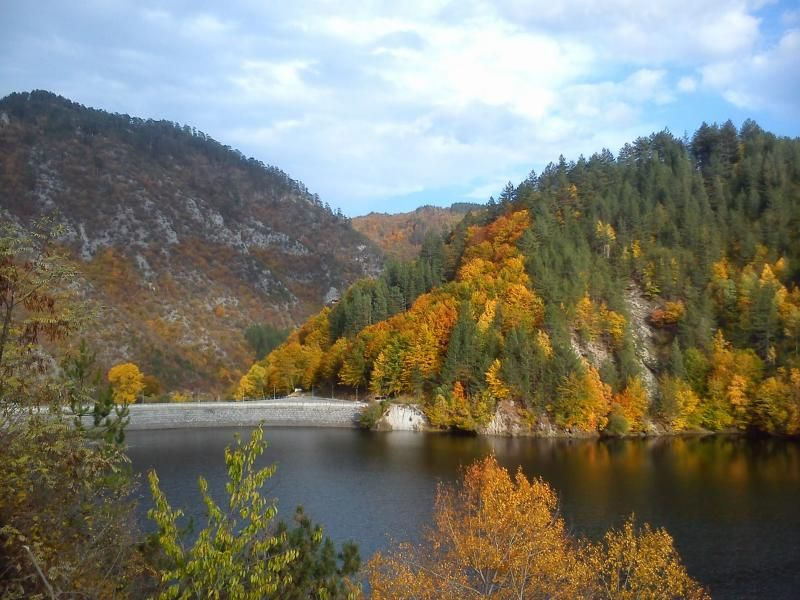 Lake near Trigrad, #cycling, #guidedcycling, #adventurecycling, #bulgaria, #bulgariacycling http://www.penguintravel.com/Offer/GuidedCyclingHolidays/3/RodopiRoadCyclingBulgaria.html