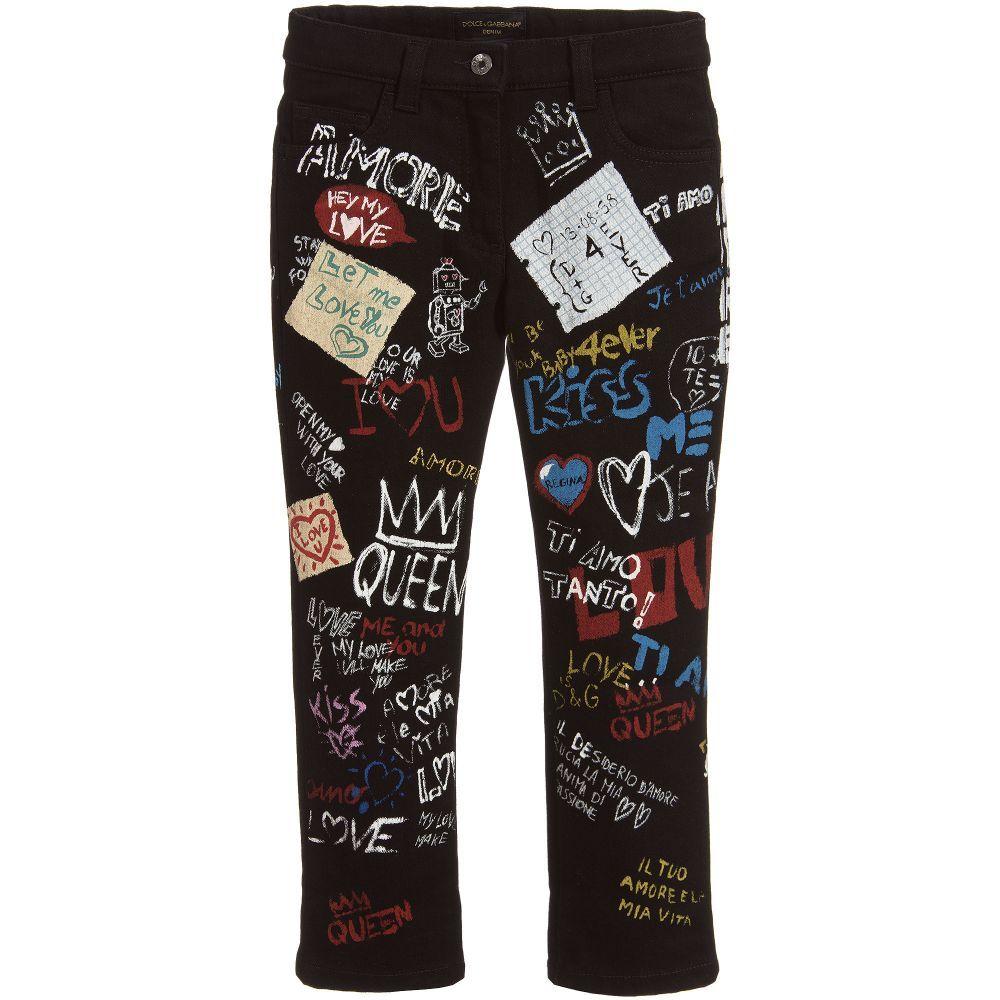 Dolce Graffiti Jeans Childrensalon Outlet