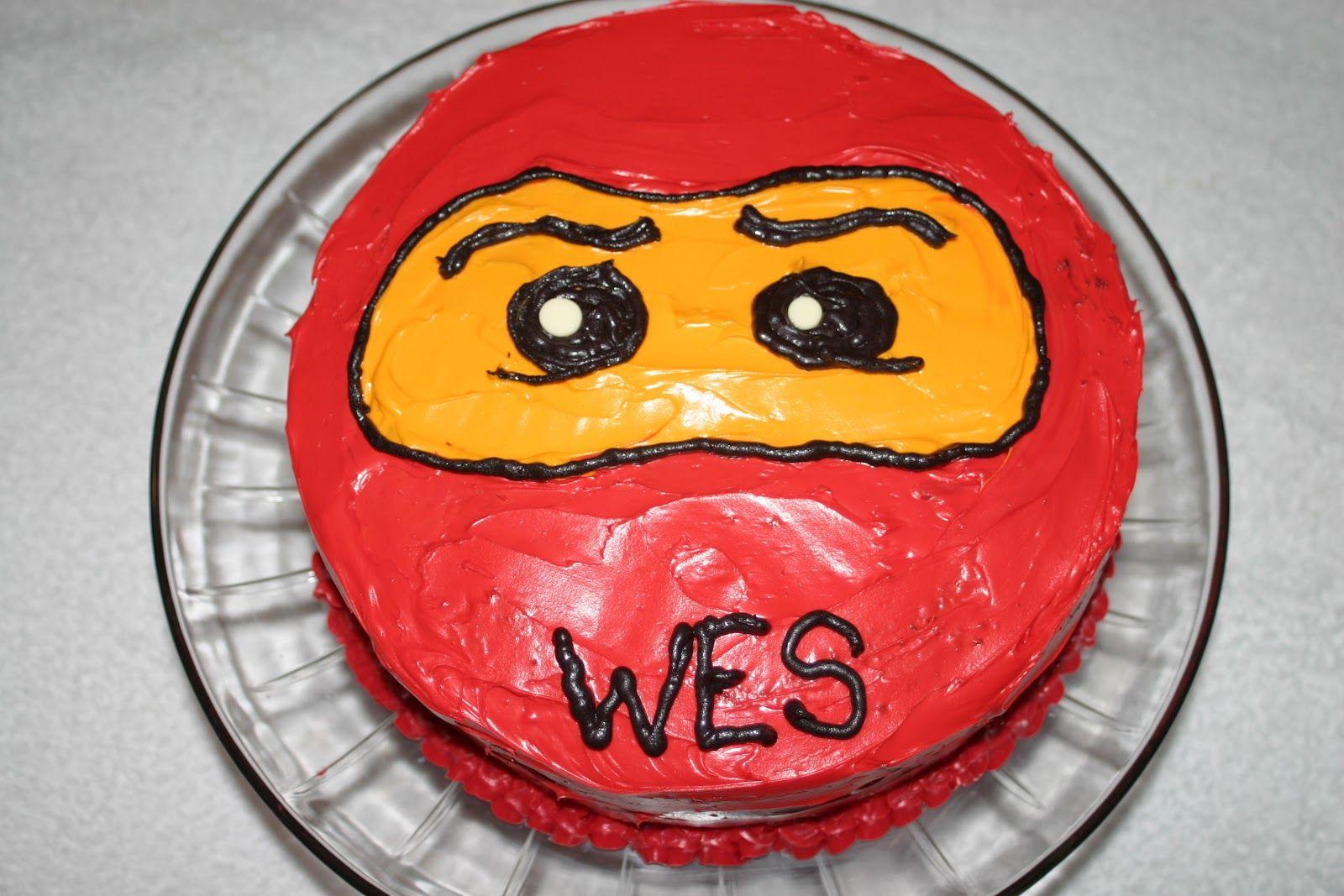 ninjago birthday cake ideas | found this adorable idea on