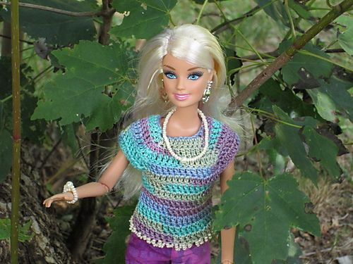 Ravelry Project Gallery For Barbie Super Simple Cotton Dress