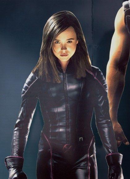 Ellen Page is Kitty Pride (Shadowcat) in X-Men III The