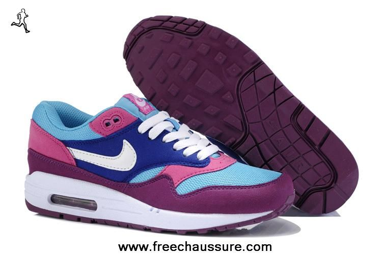 separation shoes 124d7 4c065 319986-604 moonlight pourpre wine chaussures femmes nike air max 1 ...