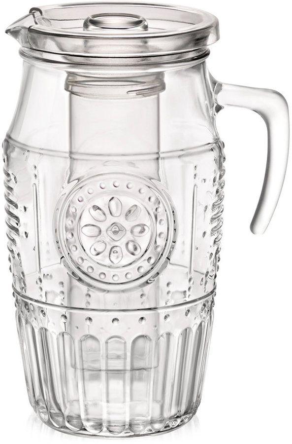 Bormioli Romantic Carafe | Bormioli rocco, Glassware, Glassware collection