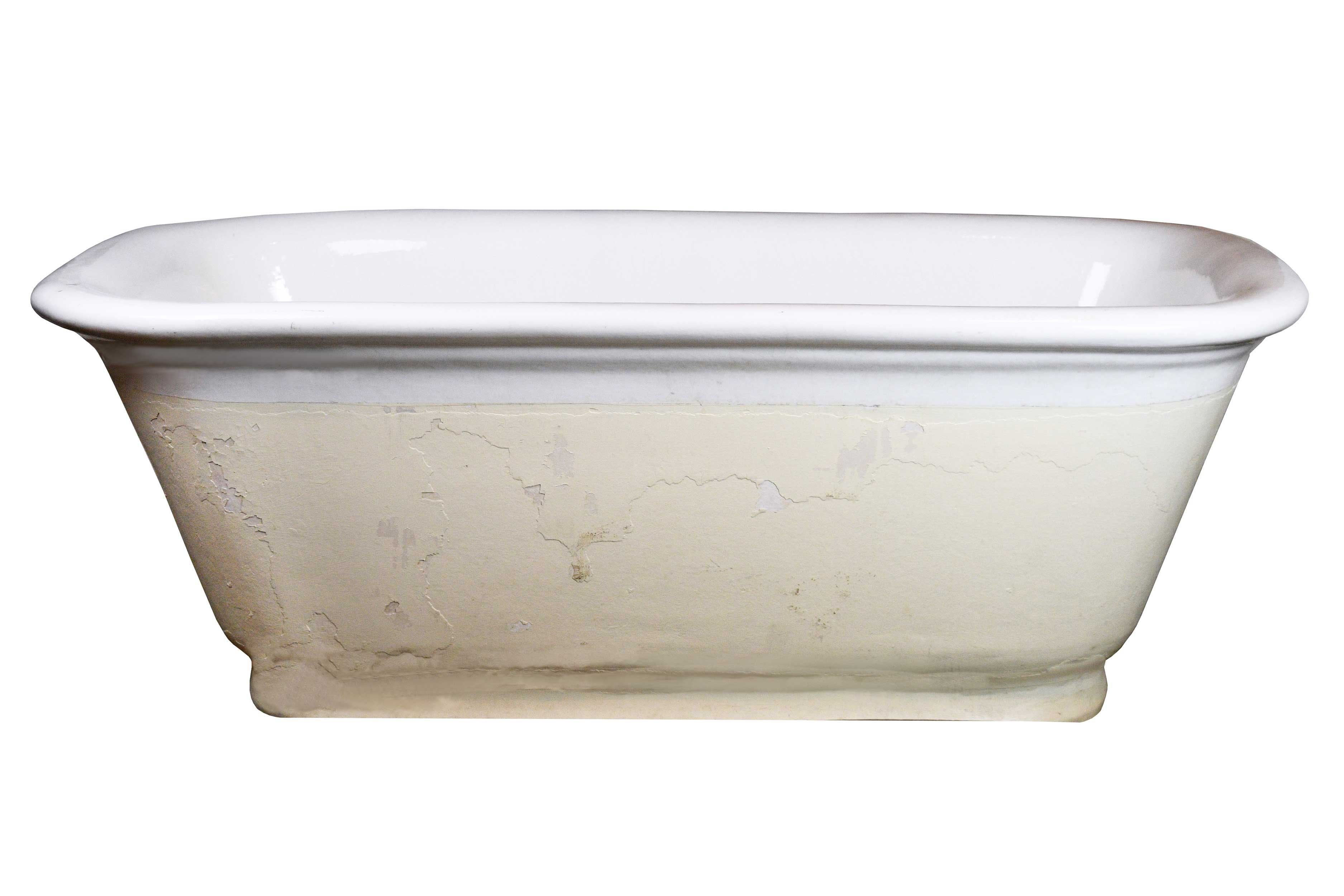 Porcelain Center Drain Tub By Architectural Antiques Free Standing Bath Tub Tub Steam Showers Bathroom