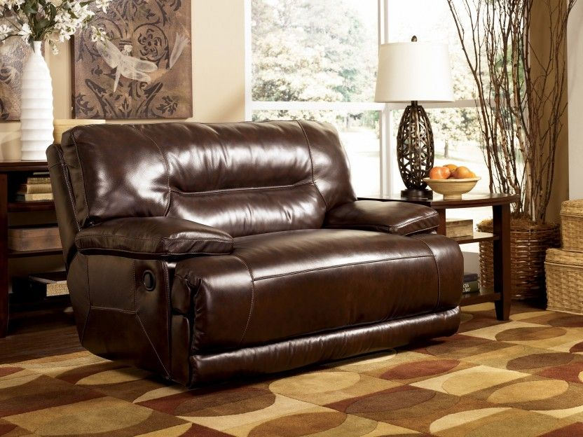 Exceptionnel 2 Person Leather Recliner