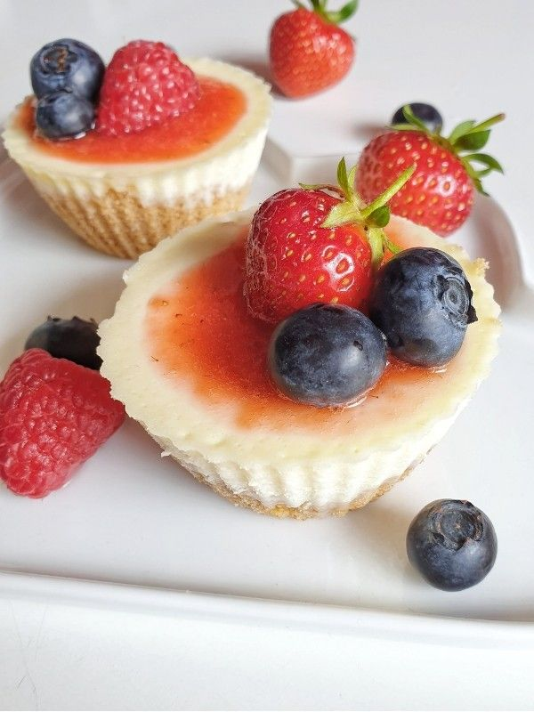 Leckere Mini Cheesecakes - Rezept - SIMPLYLOVELYCHAOS