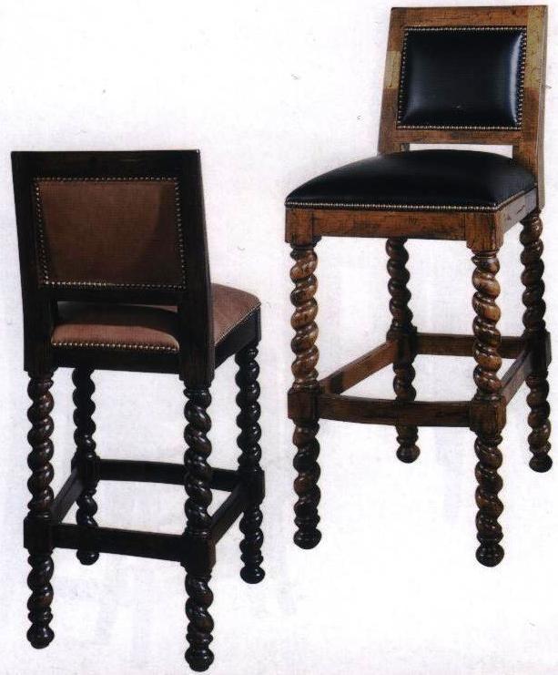 Lorts spiral bar stools