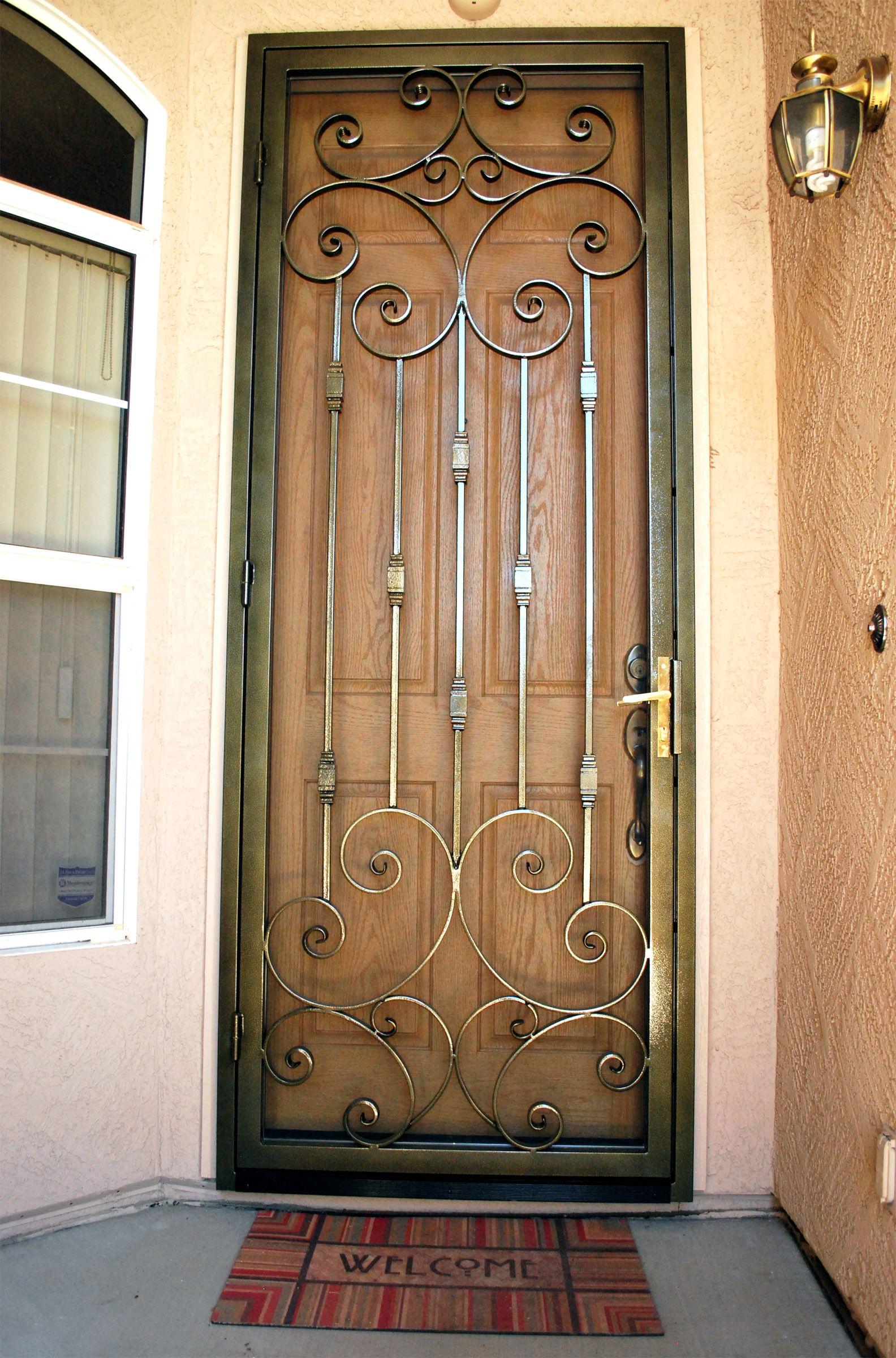 Residential Security Screen Door Steel Security Screen Door