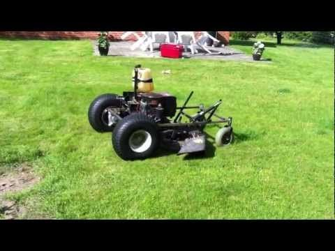 75) Homemade RC Lawnmower, Prototype (first run) - YouTube | Remote