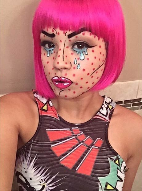 29 Jaw-Dropping Halloween Makeup Ideas