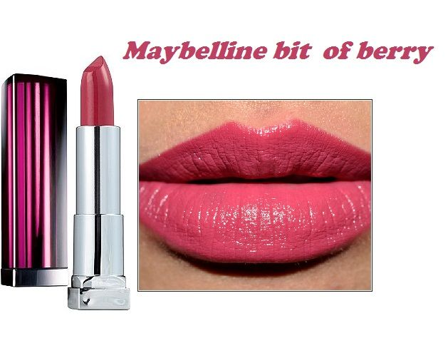 maybelline color sensational lipstick in Bit of berry <3