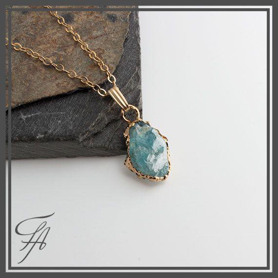 Sea blue apatite necklaceapatite pendantsmall pendantgold charm sea blue apatite necklaceapatite pendantsmall pendantgold charmhandmade charm mozeypictures Images