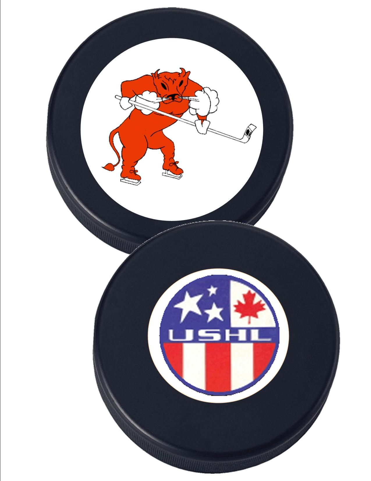 Hockey Logos Austin Mavericks Hockey Fun Puck Official Weight 6oz Fun Puck