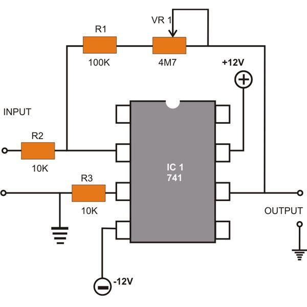 Easyelectroniccircuidiagram Using Ic 741 - Wiring Diagram Filter