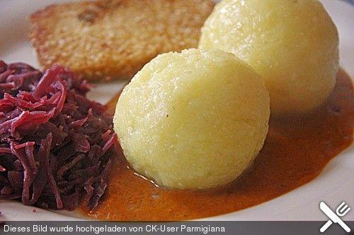 Kartoffelklöße Fränkische Art Kartoffelklöße, Fränkisch und Beilage - fr nkische k che rezepte