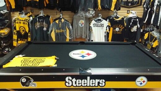 PITTSBURGH STEELERS~ POOL TABLE