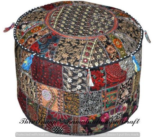 Sensational Home Furniture Diy Xl Indian Poufs Ottomans Bean Bag Ncnpc Chair Design For Home Ncnpcorg