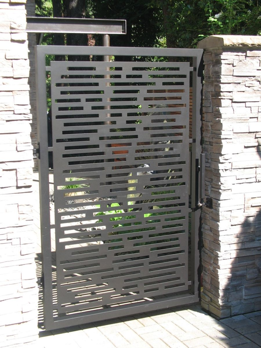 Contemporary Gate Custommade By John Xochihua Good