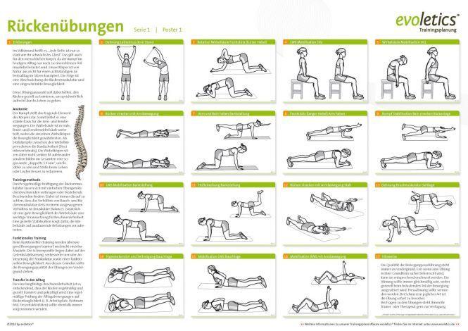 r cken bungen sport bungen pinterest r cken bungen r cken und bewegung. Black Bedroom Furniture Sets. Home Design Ideas
