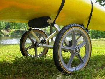 Portage Trolley Kayak Trailers Trolleys And Storage Pinterest