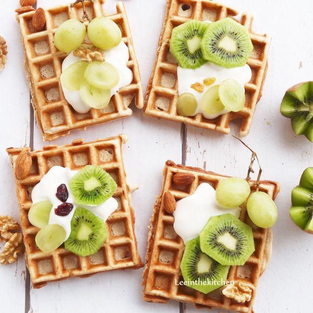 basic vegan waffle recipe * einfaches waffel rezept