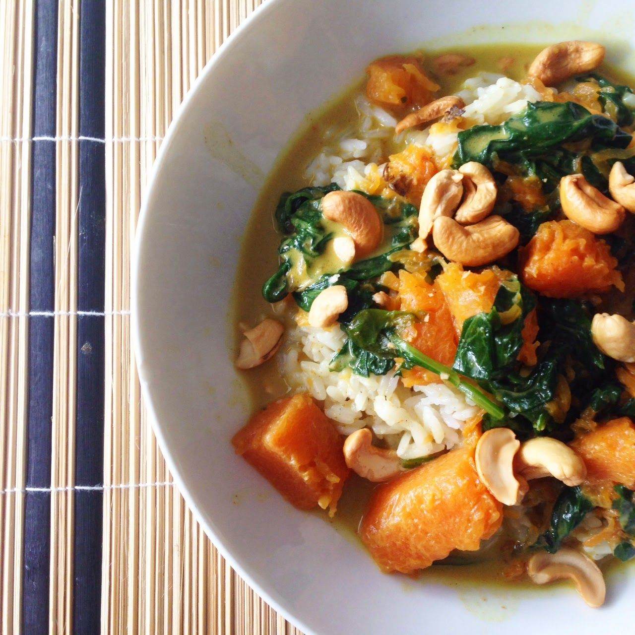 Uit Pauline's Keuken Hellofresh Hello Fresh Pumpkin Curry With Spinach And Cashews Gezonde