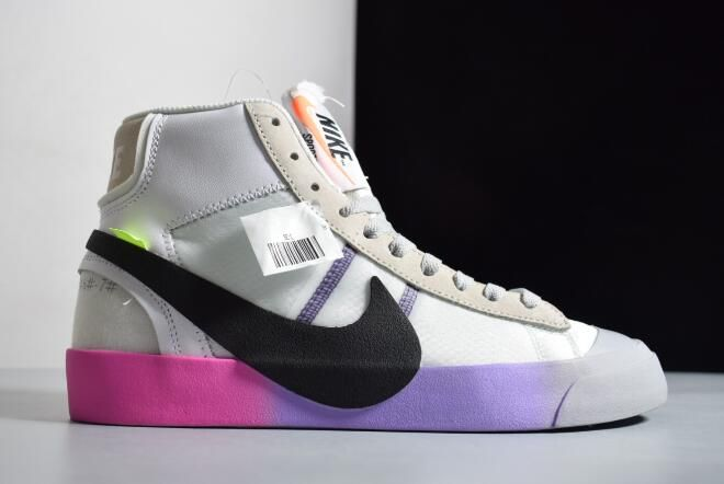 "b545bc733d60c 2018 Off-White x Nike Blazer Mid ""Queen"" AA3832-102 For Sale"