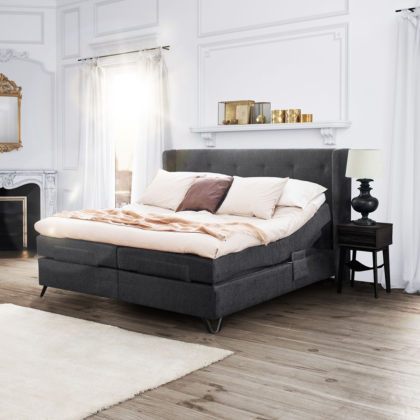 Jensen Aqtive Ii Is An Elegant Adjustable Bed That Looks Like A
