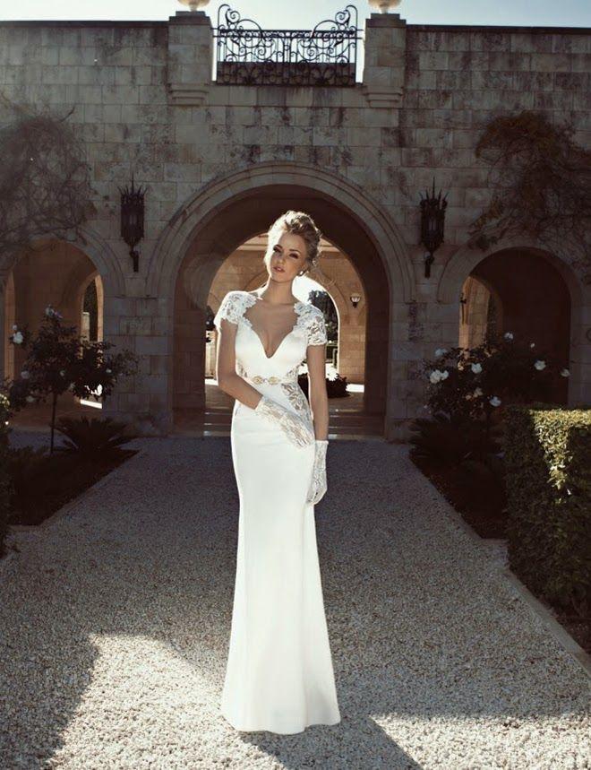 Vestido novia ajustado