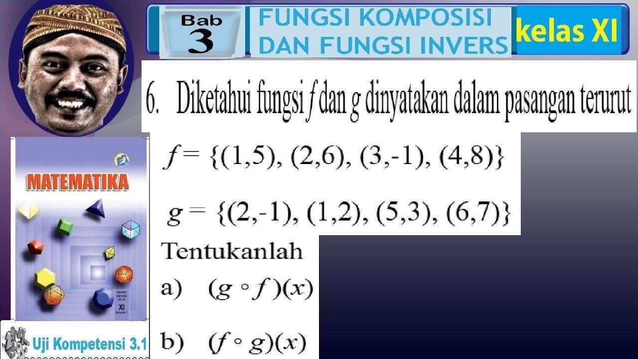 Contoh Soal Fungsi Komposisi Pasangan Berurutan Matematika Kelas 8 Pasangan Surat