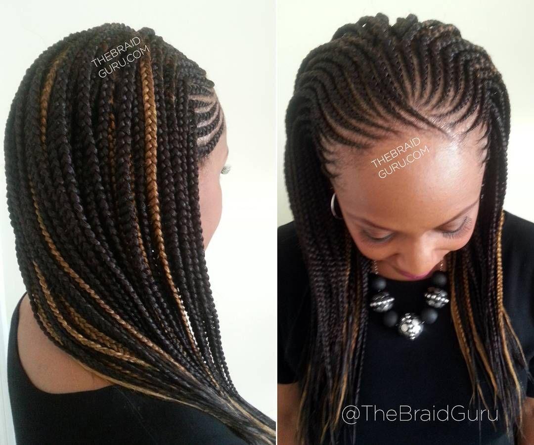 pin jen white hair braiding