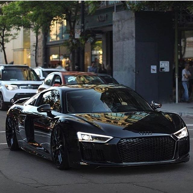 "Billionaire Style on Instagram: ""Blacked out AUDI R8"