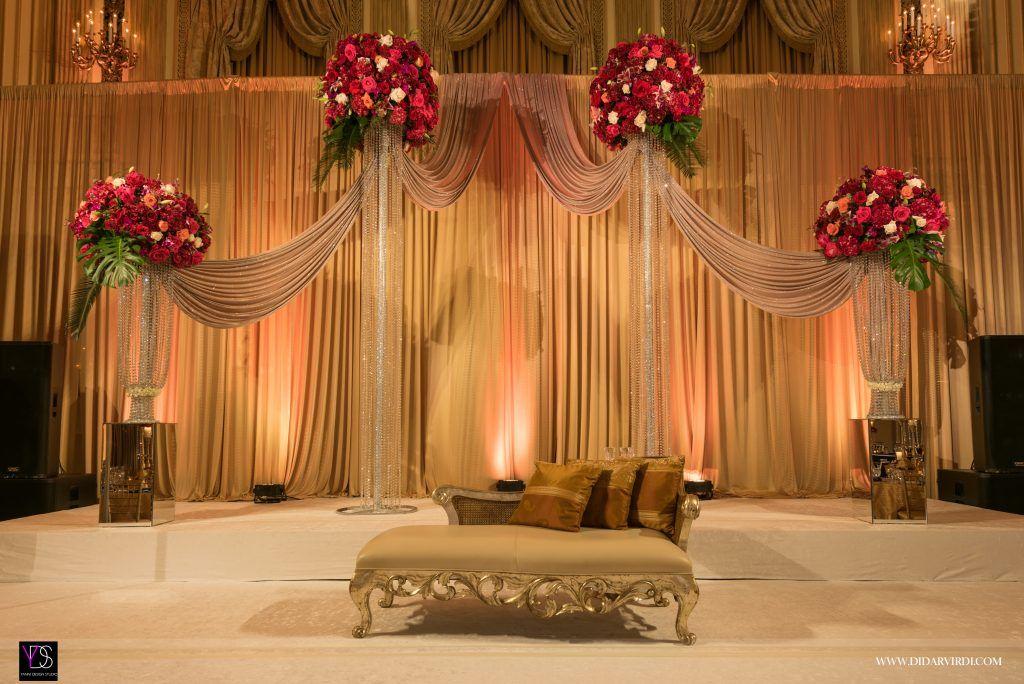 Muslim Reception Decor Reception Decorations Wedding Stage