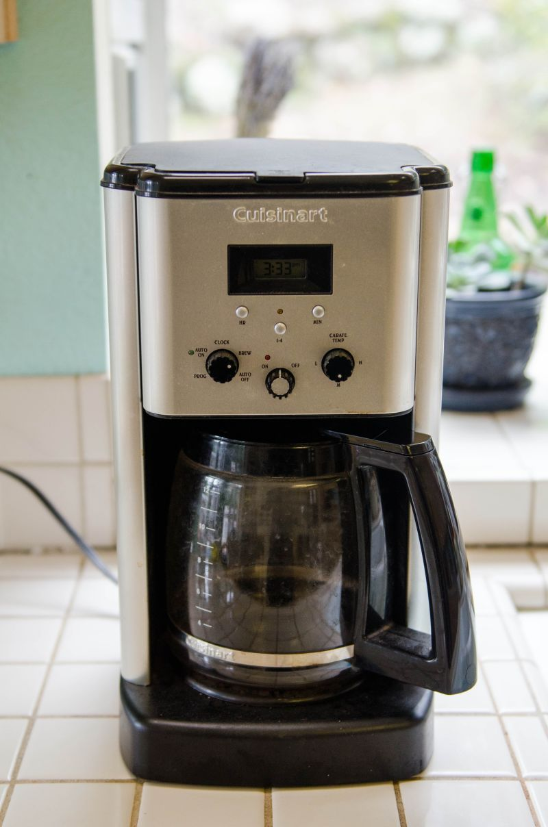 How To Clean A Coffee Maker Coffee Pot Cleaning Coffee Coffee Machine