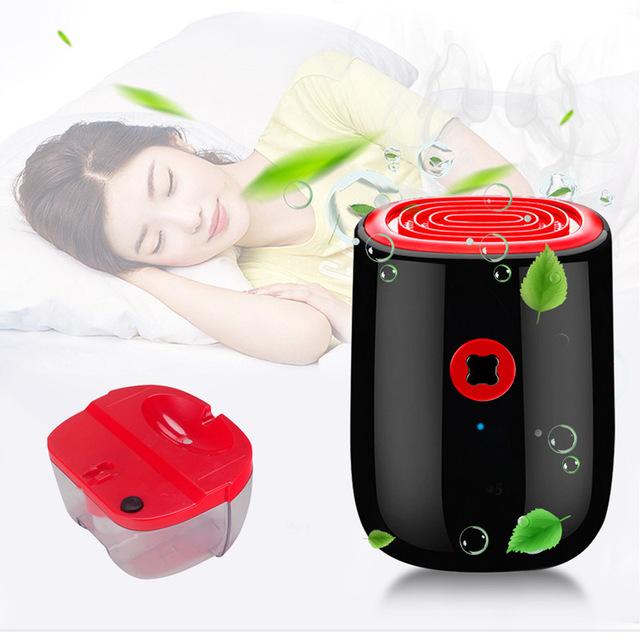 Mini deshumidificador Secador de aire absorbente de humedad portátil mejores
