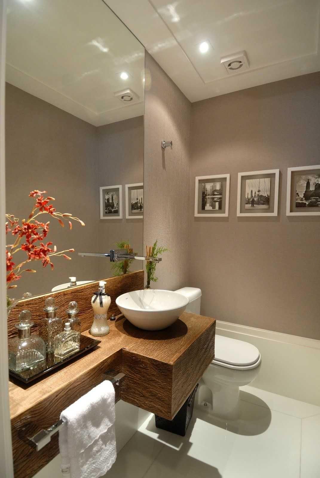 pia sobre madeira, armario aberto, cimento  banheiro  Pinterest  Madeira -> Armario Banheiro Aberto