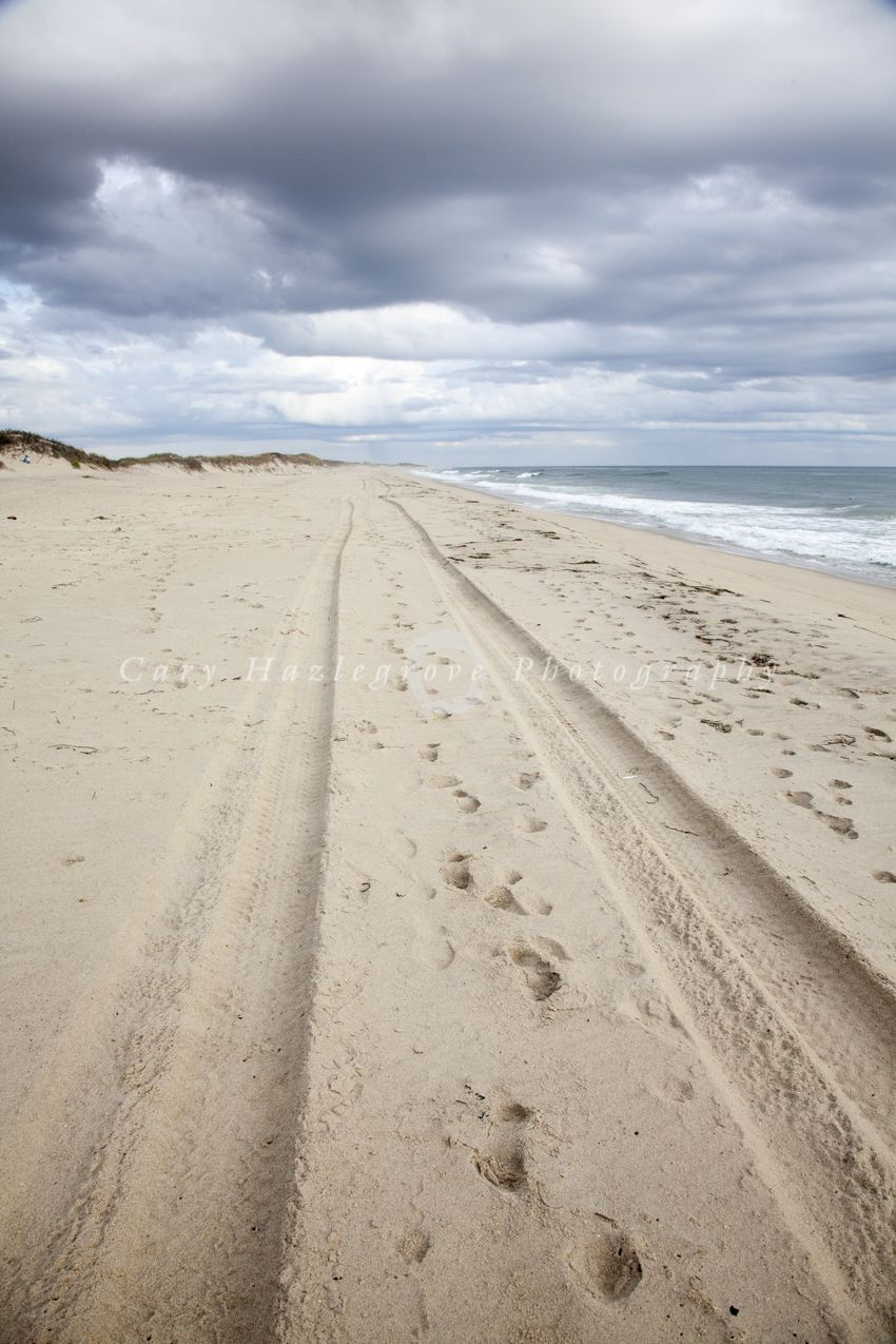 A Fall Day At Miacomet Beach In Nantucket Ma