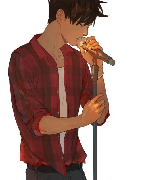 Kuroo Tetsurou as a singer though | Kuroo | Haikyuu, Kuroo haikyuu