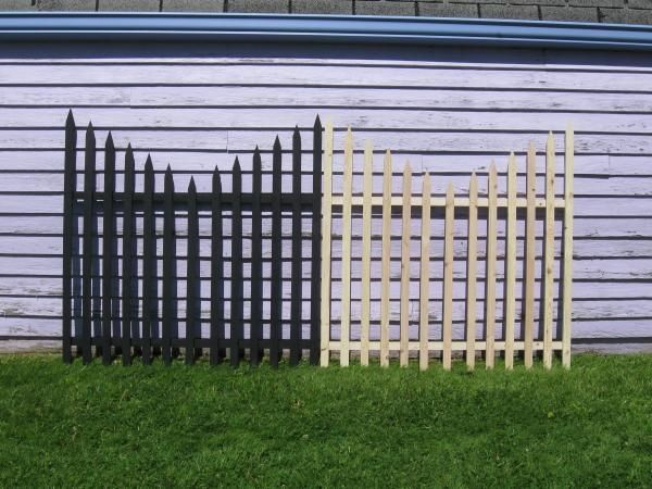 My $120 Graveyard Fence - halloween yard decor on the cheap! Diy