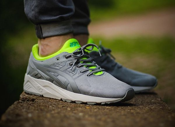 Asics Gel Kayano Trainer Evo: Grey/Green